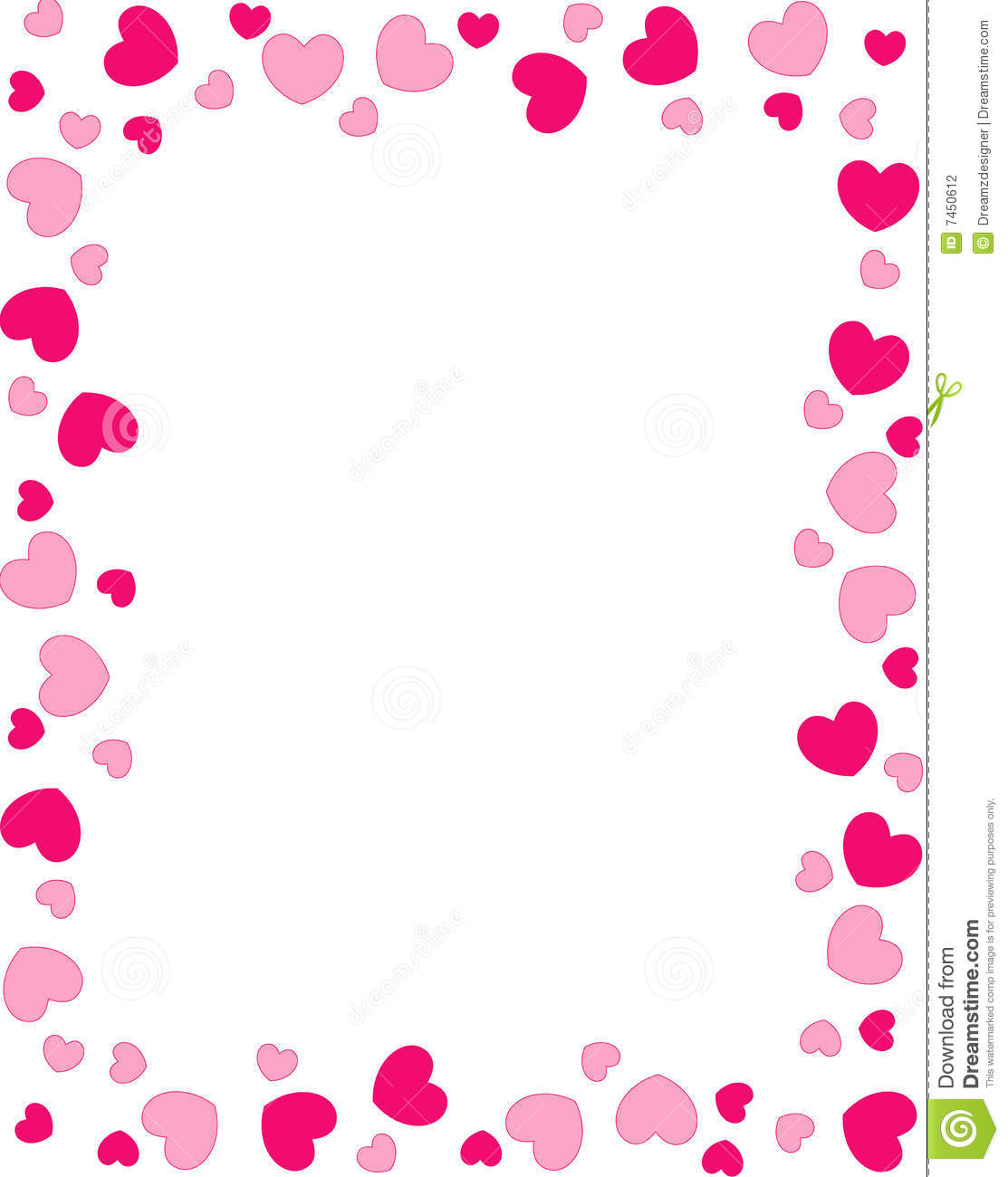 love abstract heart border hi stock photo love red hearts border frame    Heart Border Horizontal
