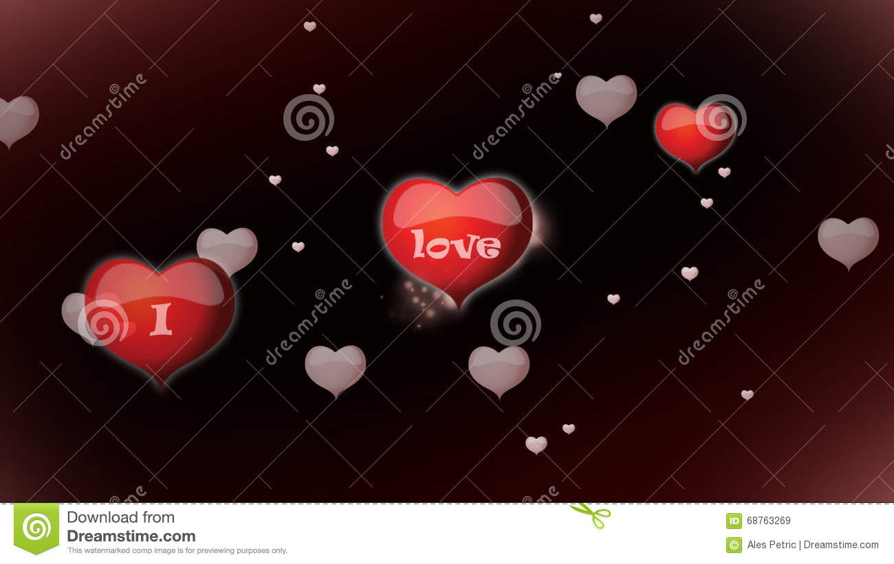 I Love You Moving Hearts Stock Footage Videos 19 Stock Videos