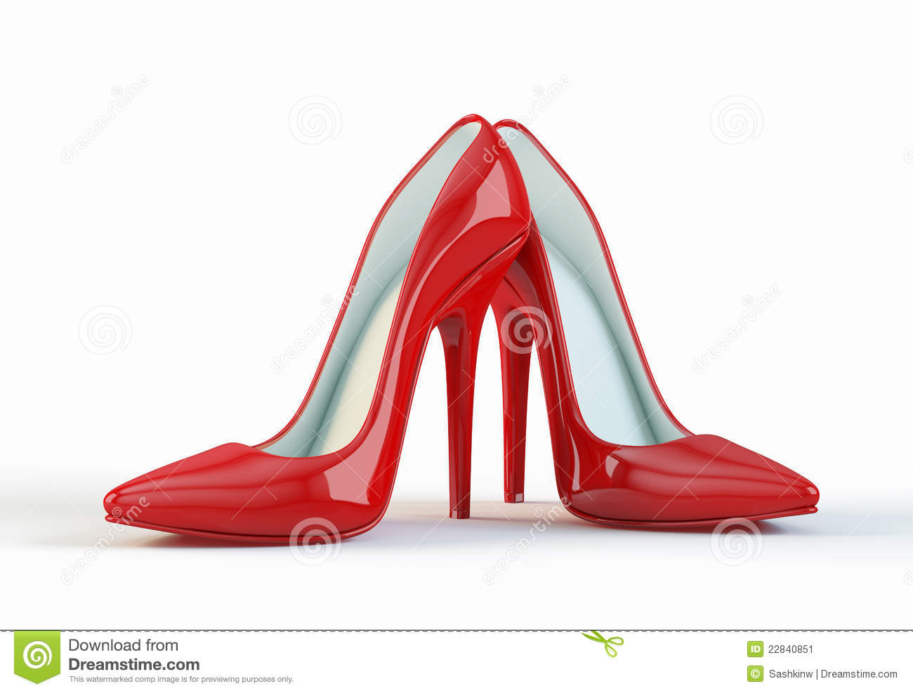 Shoes With Red Heels