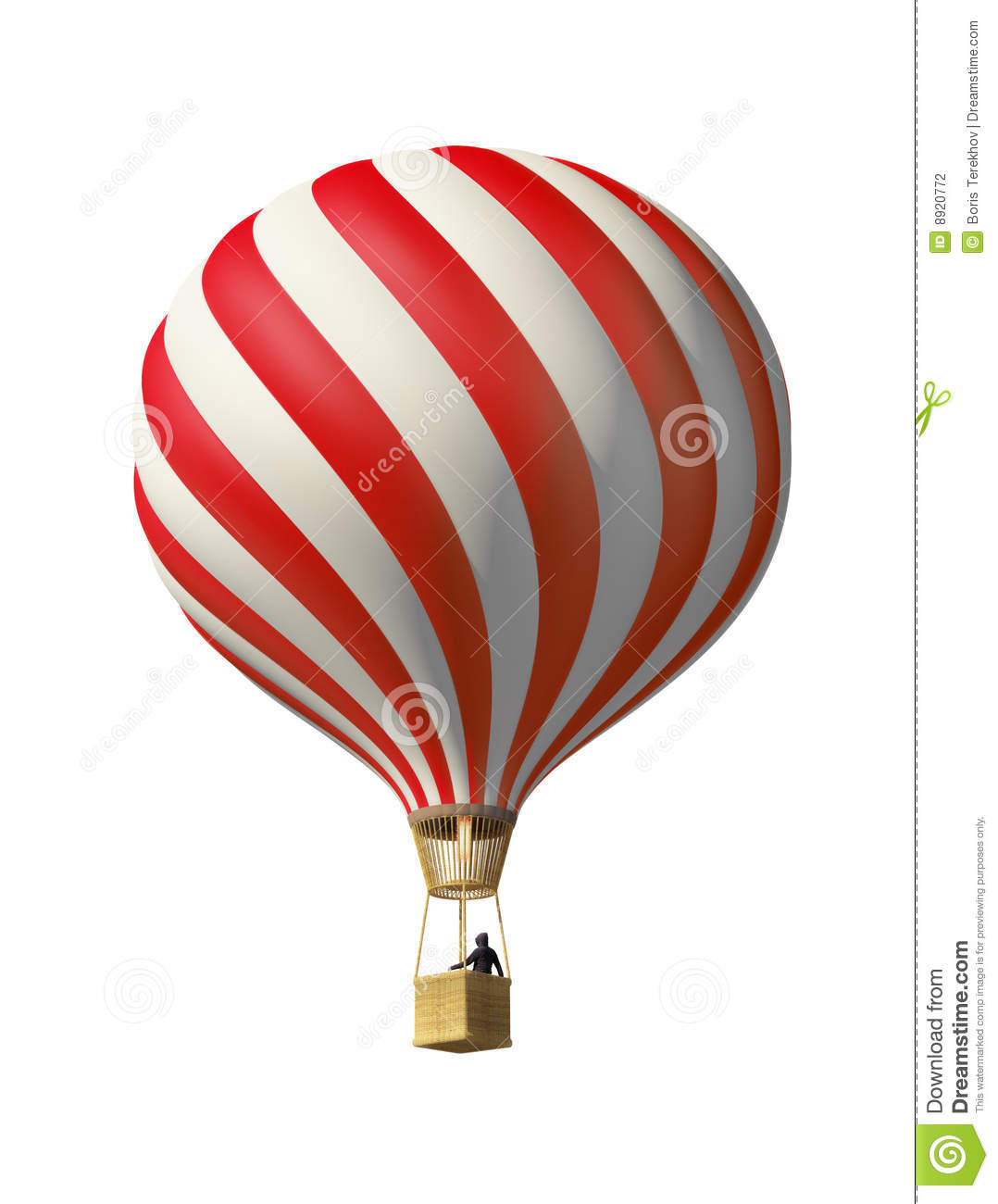 Red Hot Air Balloon Stock Photography - Image: 8920772