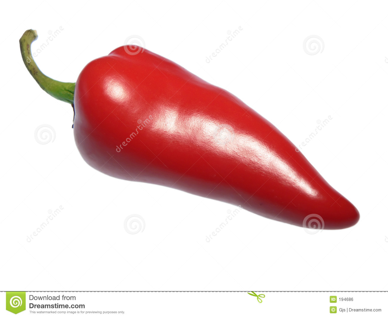red hot chili pepper isolated on white stock photo image of everyday vegetables 194686. Black Bedroom Furniture Sets. Home Design Ideas