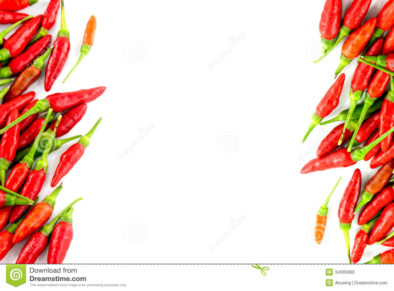 Red Hot Chili Peppers Stock Photo Image 34395990