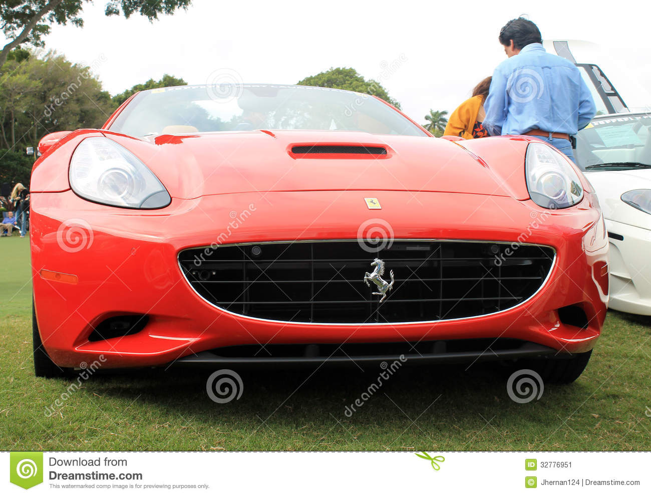 red italian modern sports car front view editorial photo image of headlamp event 32776951. Black Bedroom Furniture Sets. Home Design Ideas