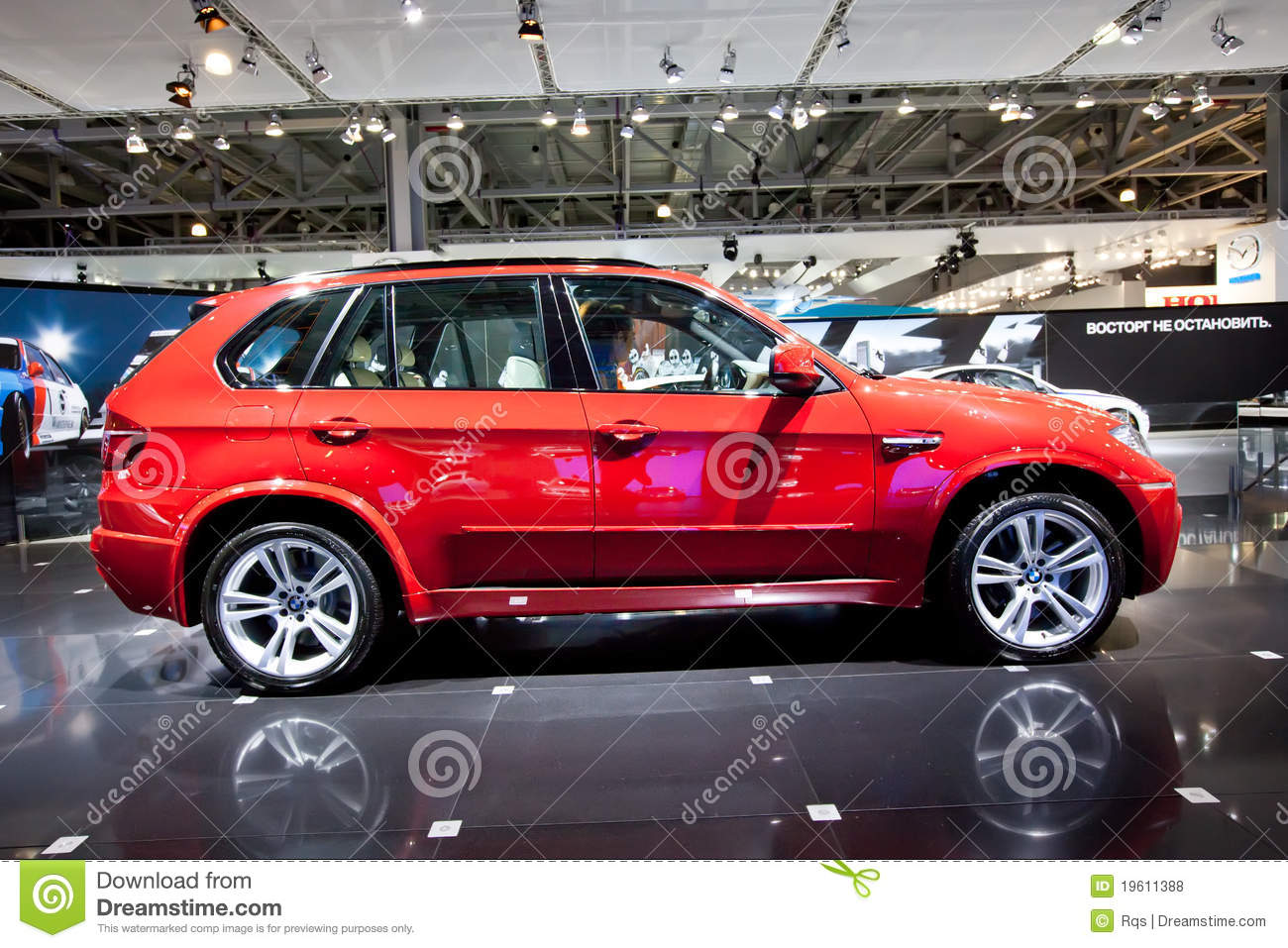 Red Jeep Car Bmw X5 M Editorial Stock Photo Image Of