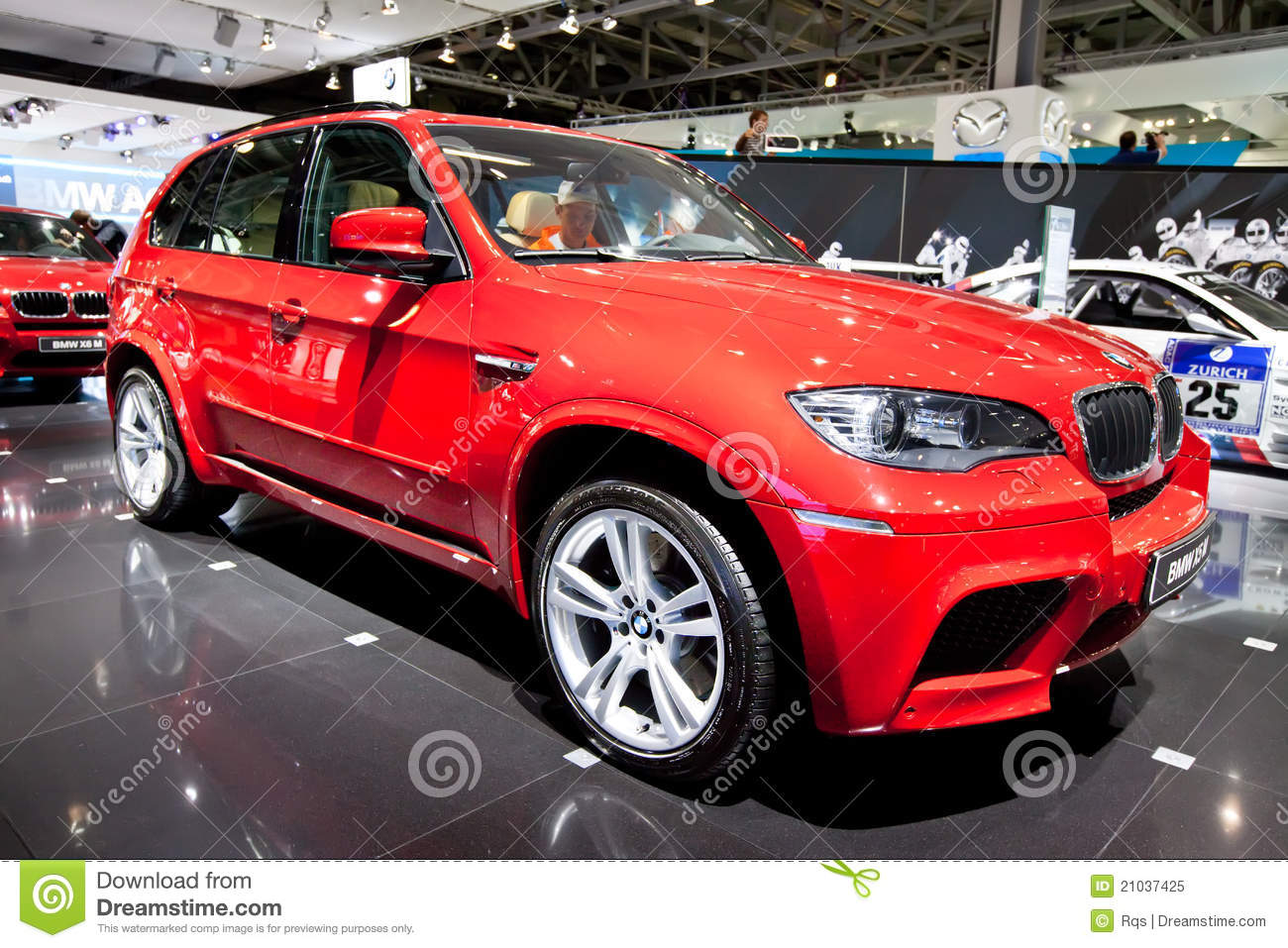 Red Jeep Car Bmw X5 M Editorial Image Image Of Light