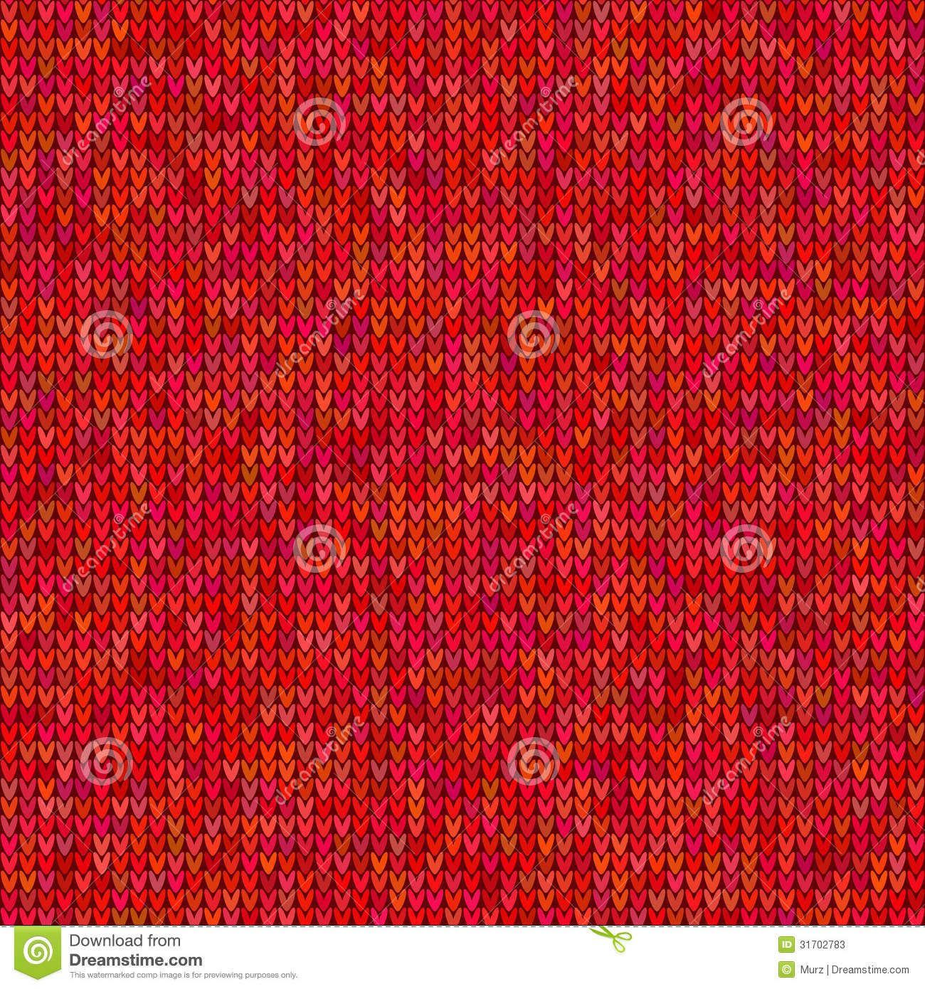 Red Knitted Sweater Pattern Stock Photos - Image: 31702783