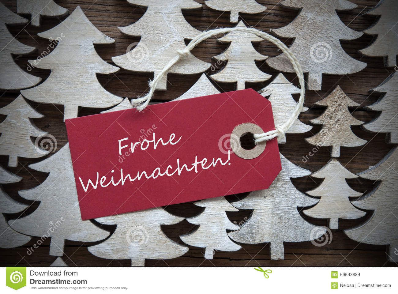 red label frohe weihnachten mean merry christmas stock. Black Bedroom Furniture Sets. Home Design Ideas