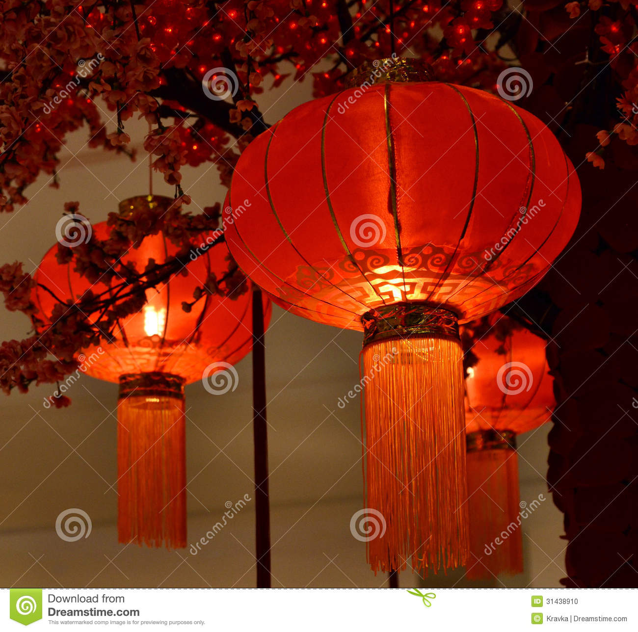 red lantern chinese new year stock photo image 31438910. Black Bedroom Furniture Sets. Home Design Ideas