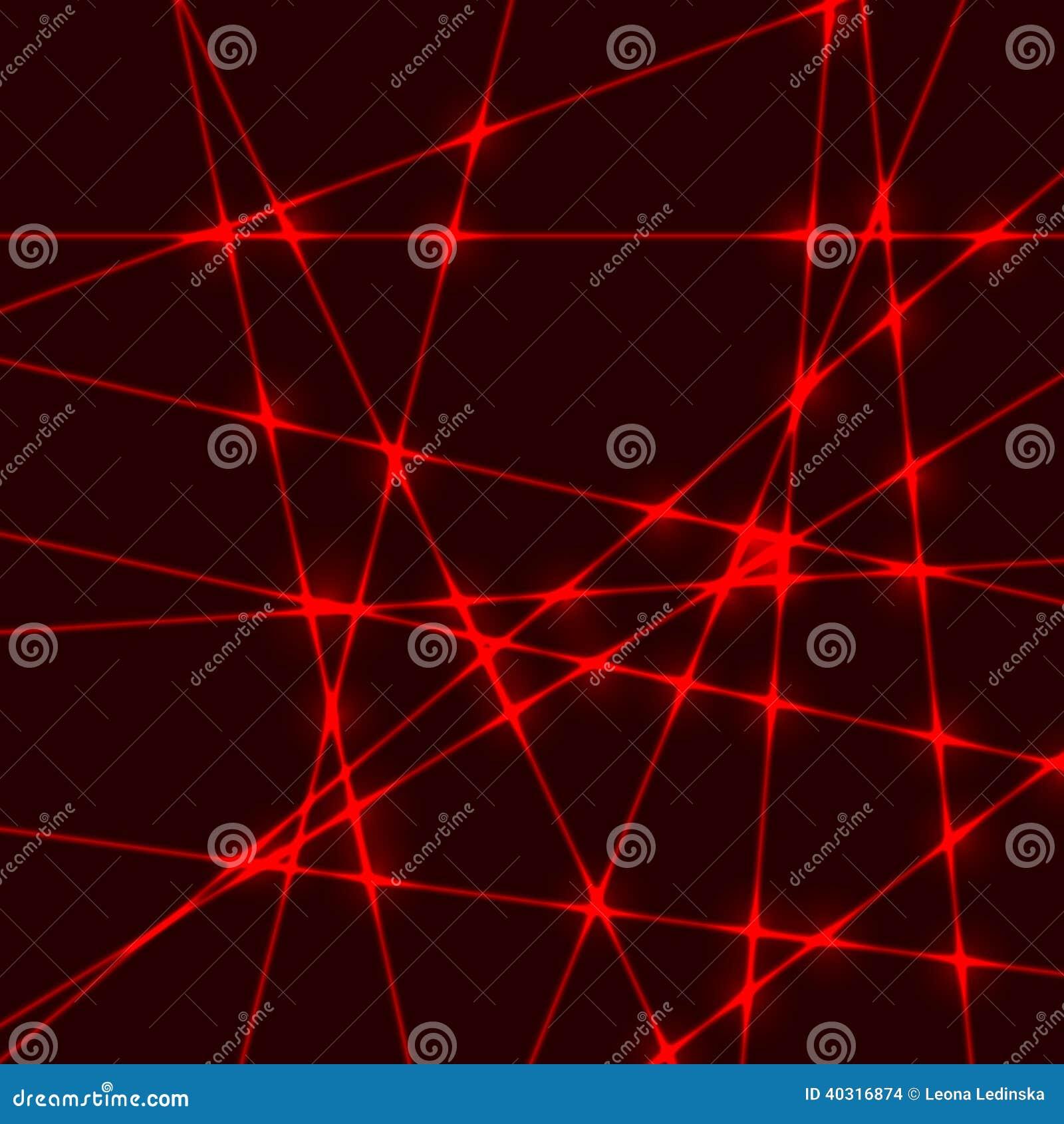 Red Laser Light Beam Stock Vector Illustration Of Design