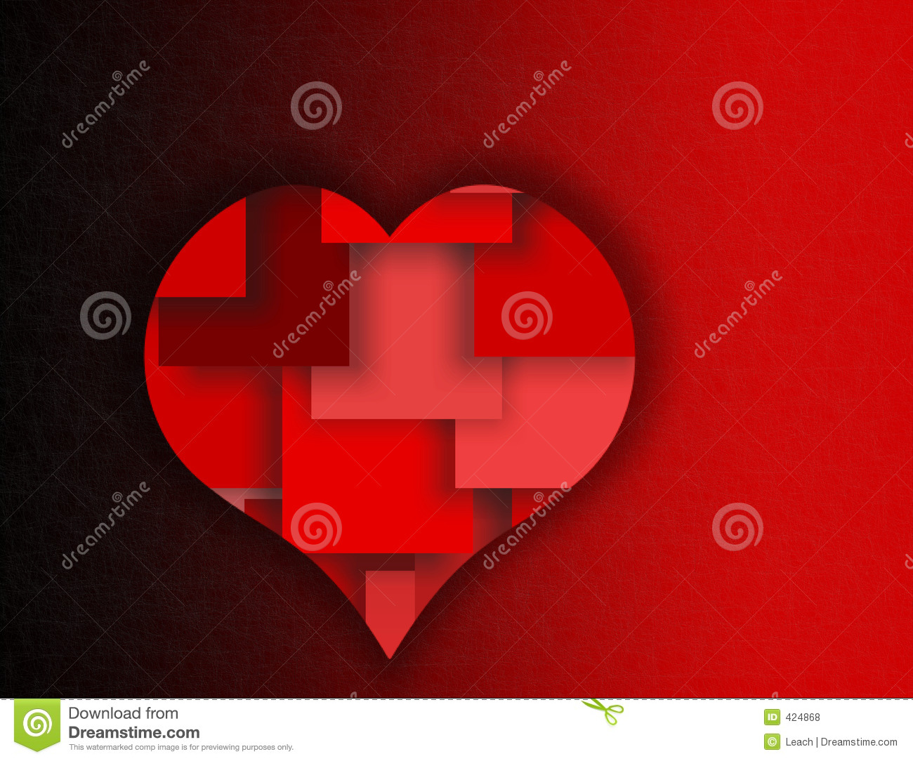 Red layered heart symbols of love and romance stock illustration royalty free stock photo buycottarizona Image collections