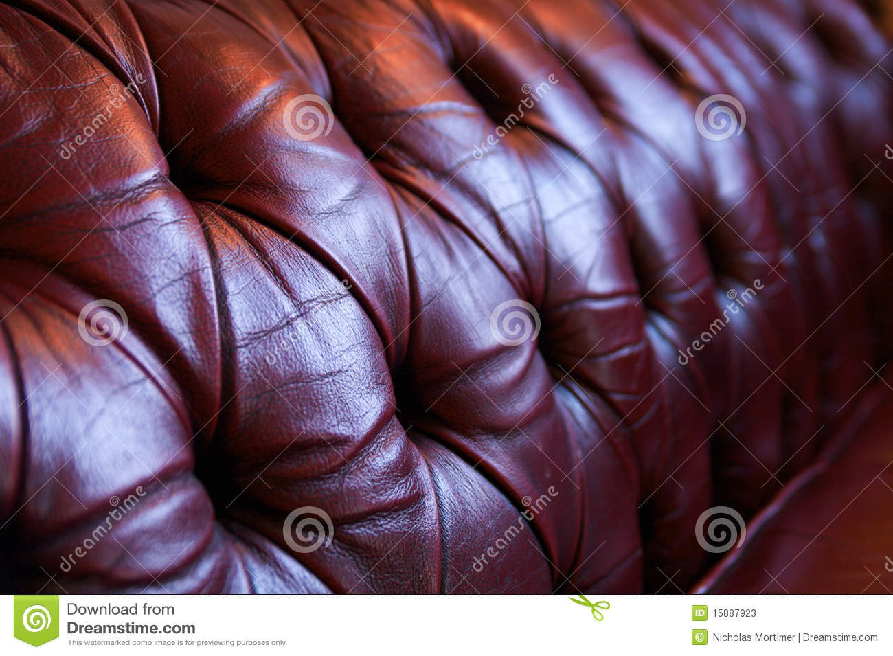 Stupendous Red Leather Chesterfield Sofa Stock Image Image Of Chair Squirreltailoven Fun Painted Chair Ideas Images Squirreltailovenorg