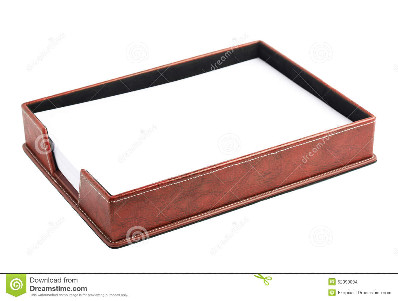 office paper holders. Red-leather-paper-holder-box-office-isolated-over-white-background-52390004.jpg (1300×982) | F3 Reference Pinterest Office Paper Holders .