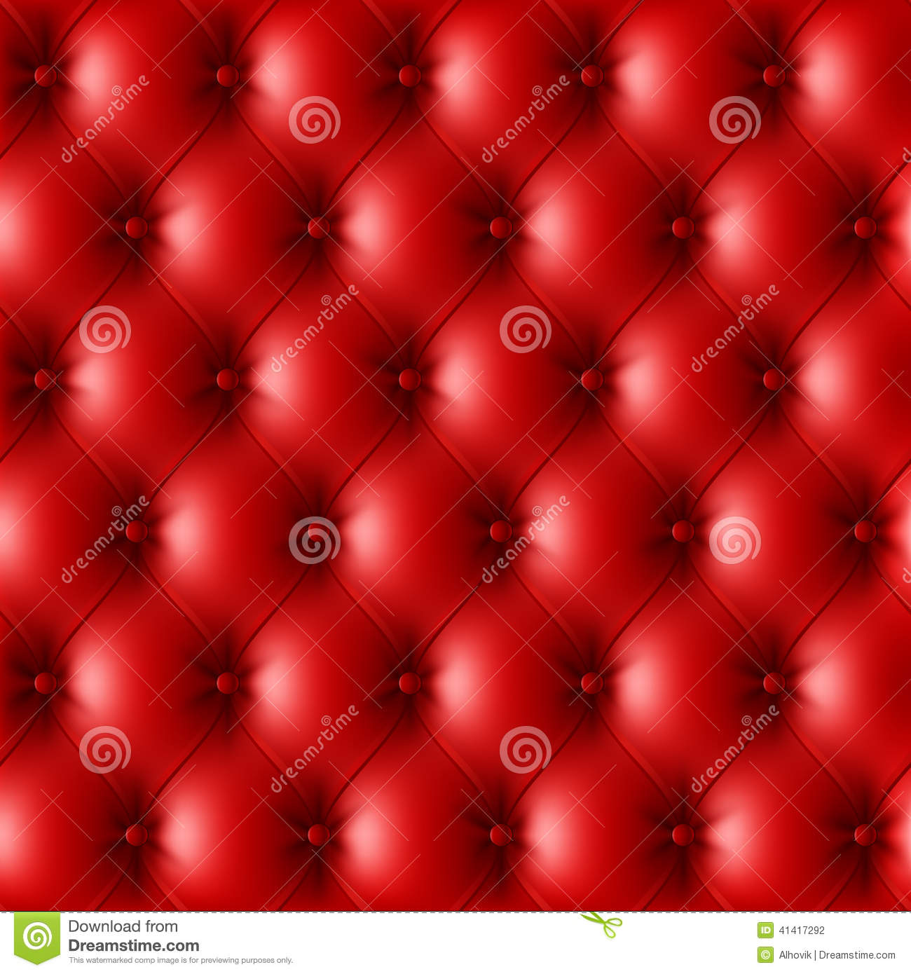 Red leather upholstery pattern stock vector image 41417292 for Red leather fabric