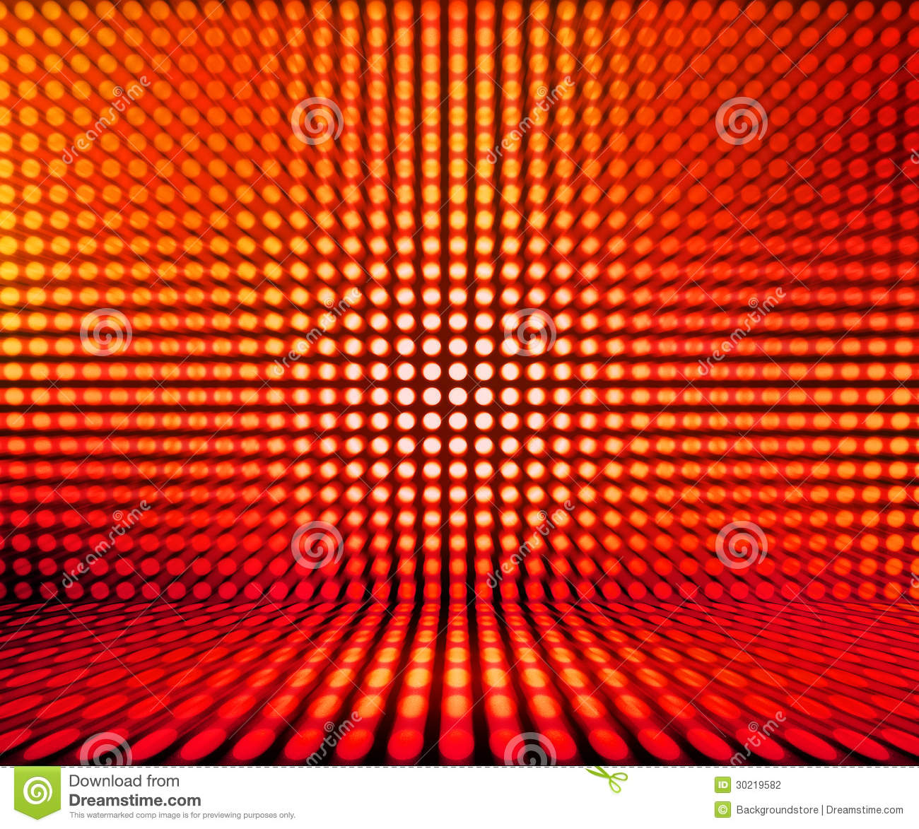 Red Leds Light Stage Background Stock Illustration - Illustration of ... for Red Led Light Texture  45jwn
