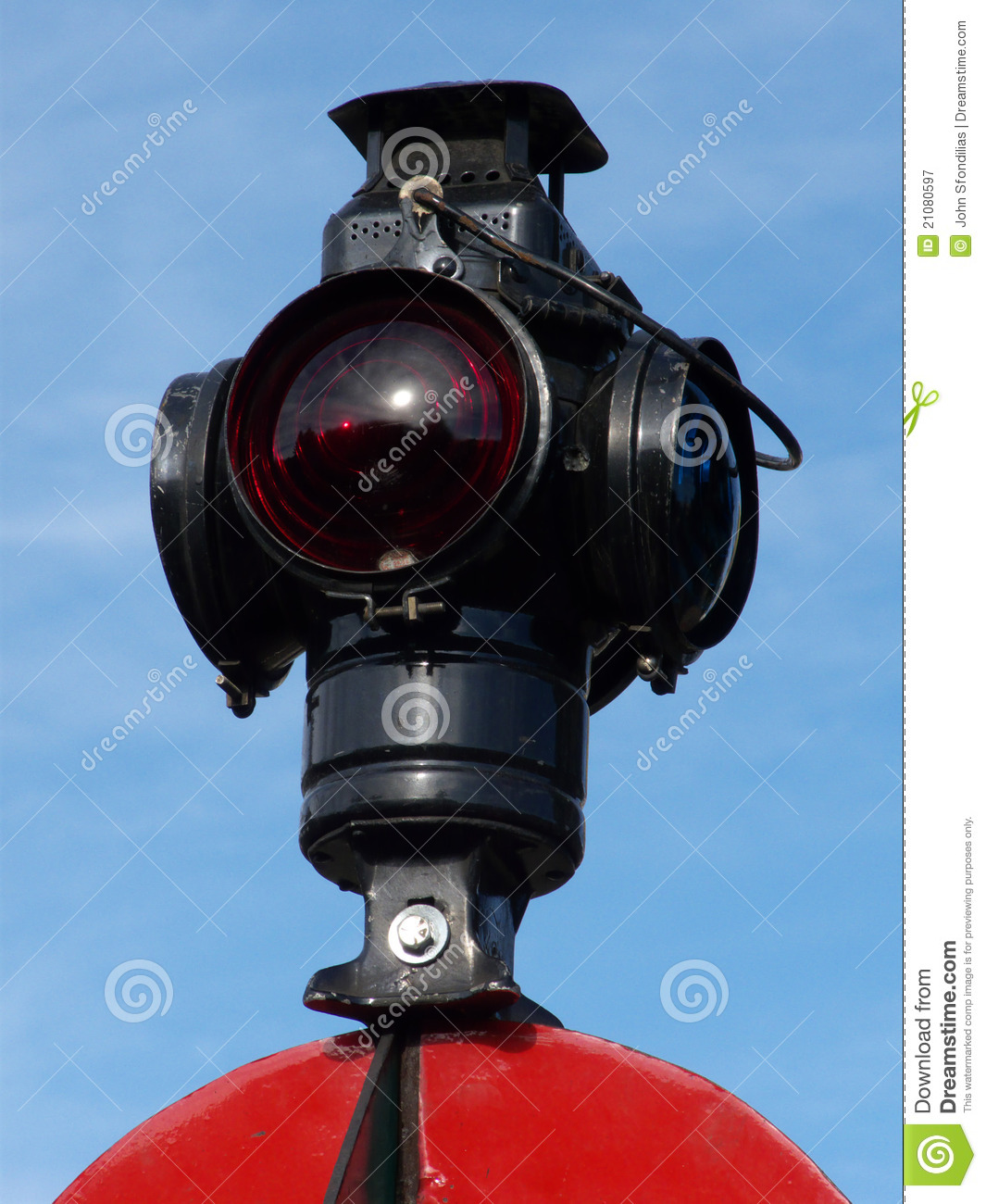 A Redneck Traffic Light/Stop Light/Red Light with Vintage Parts   ...