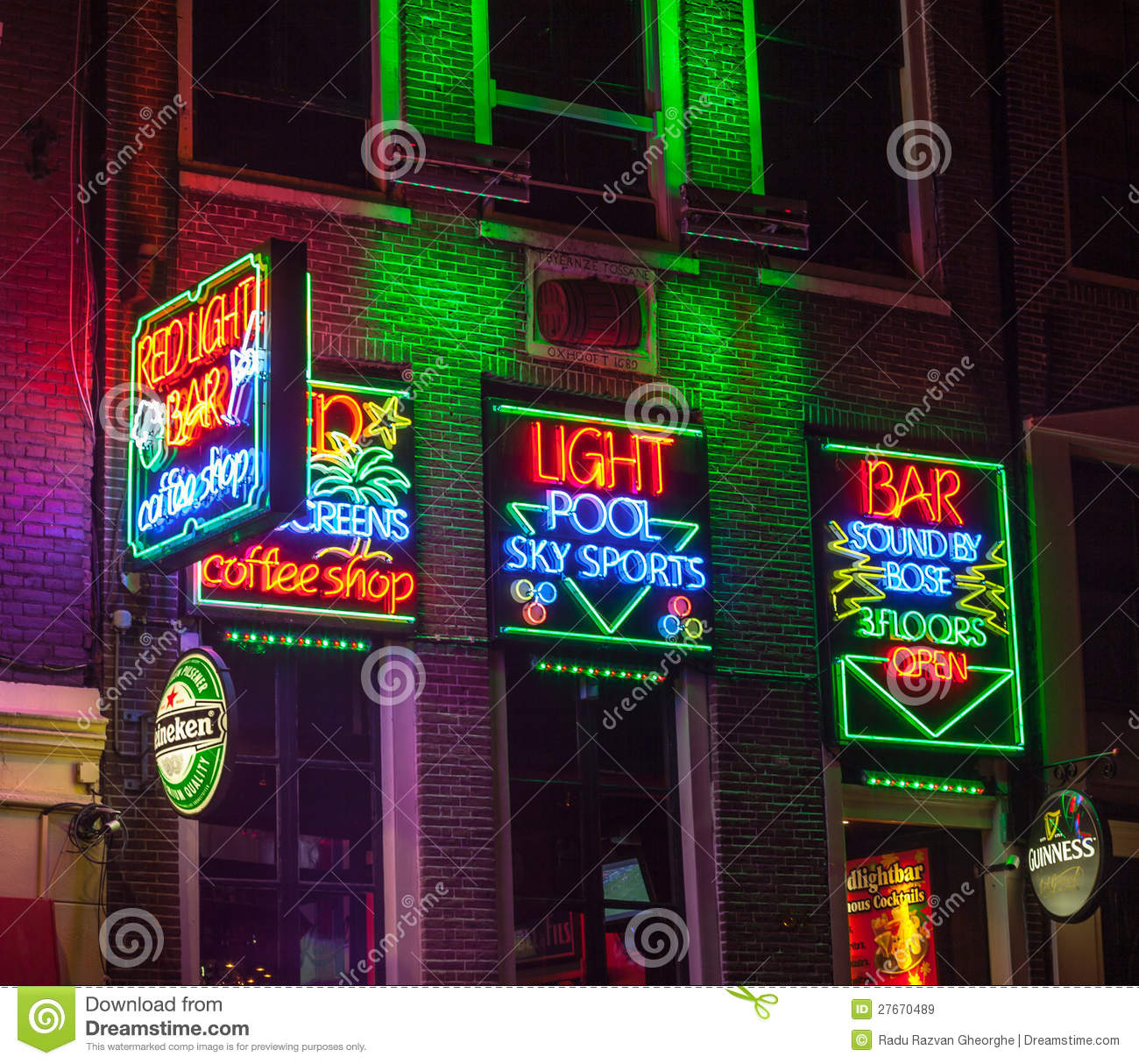 Red light bar in amsterdam editorial stock image image of download comp aloadofball Image collections