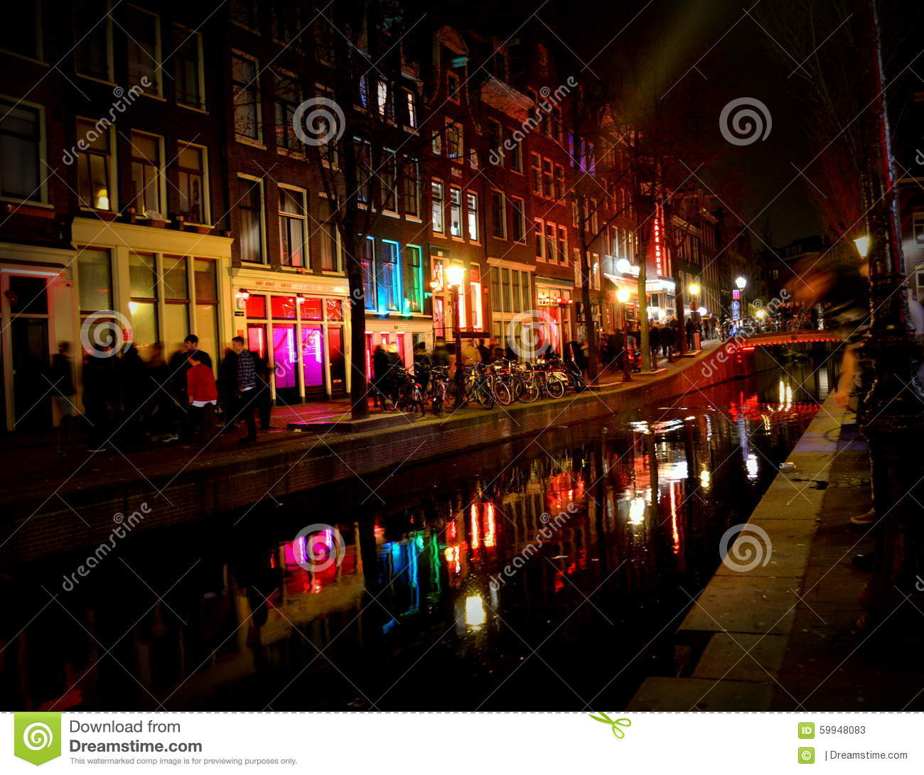 red light district amsterdam times