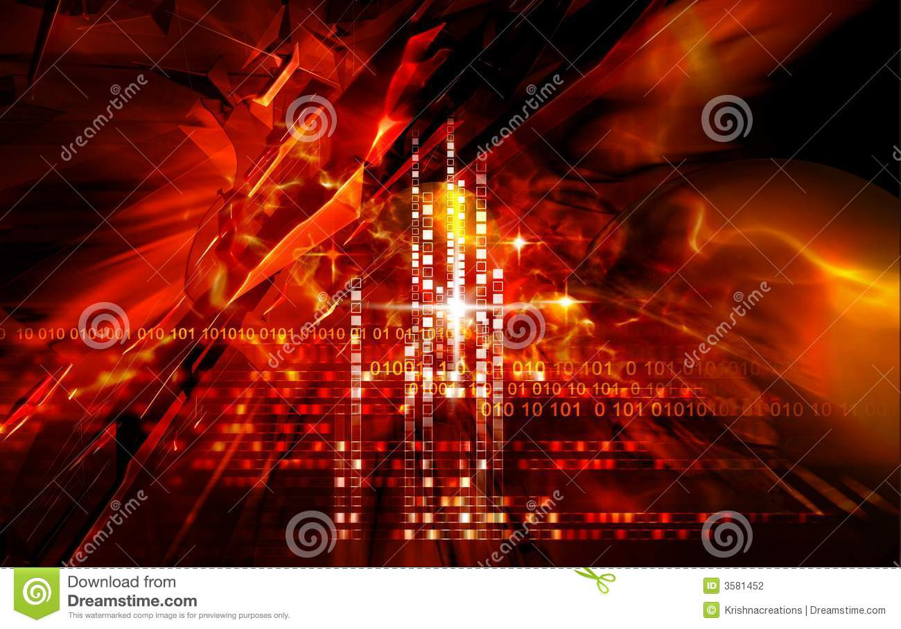 Red Light Effects Stock Photography Image 3581452