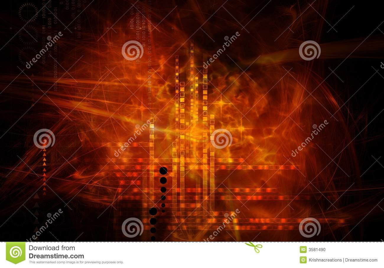 Red Light Effects Stock Photo Image 3581490
