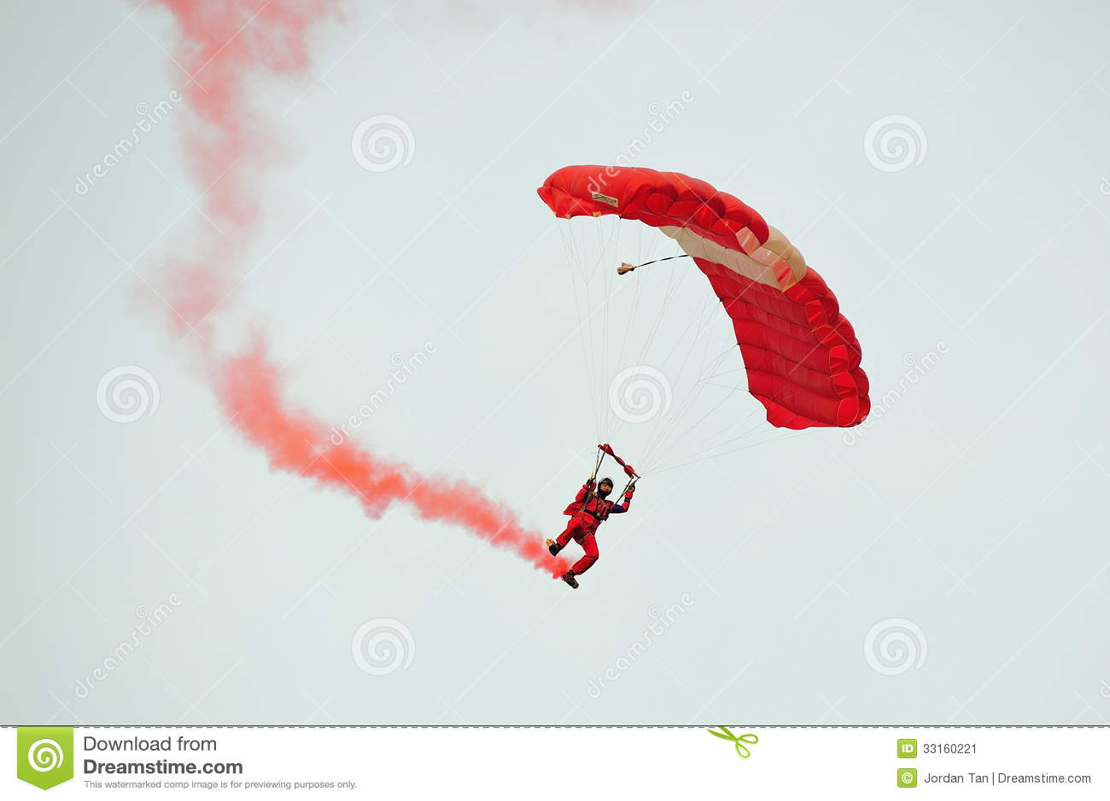 The Parachute Regiment S Red Devils Parachute Display Team