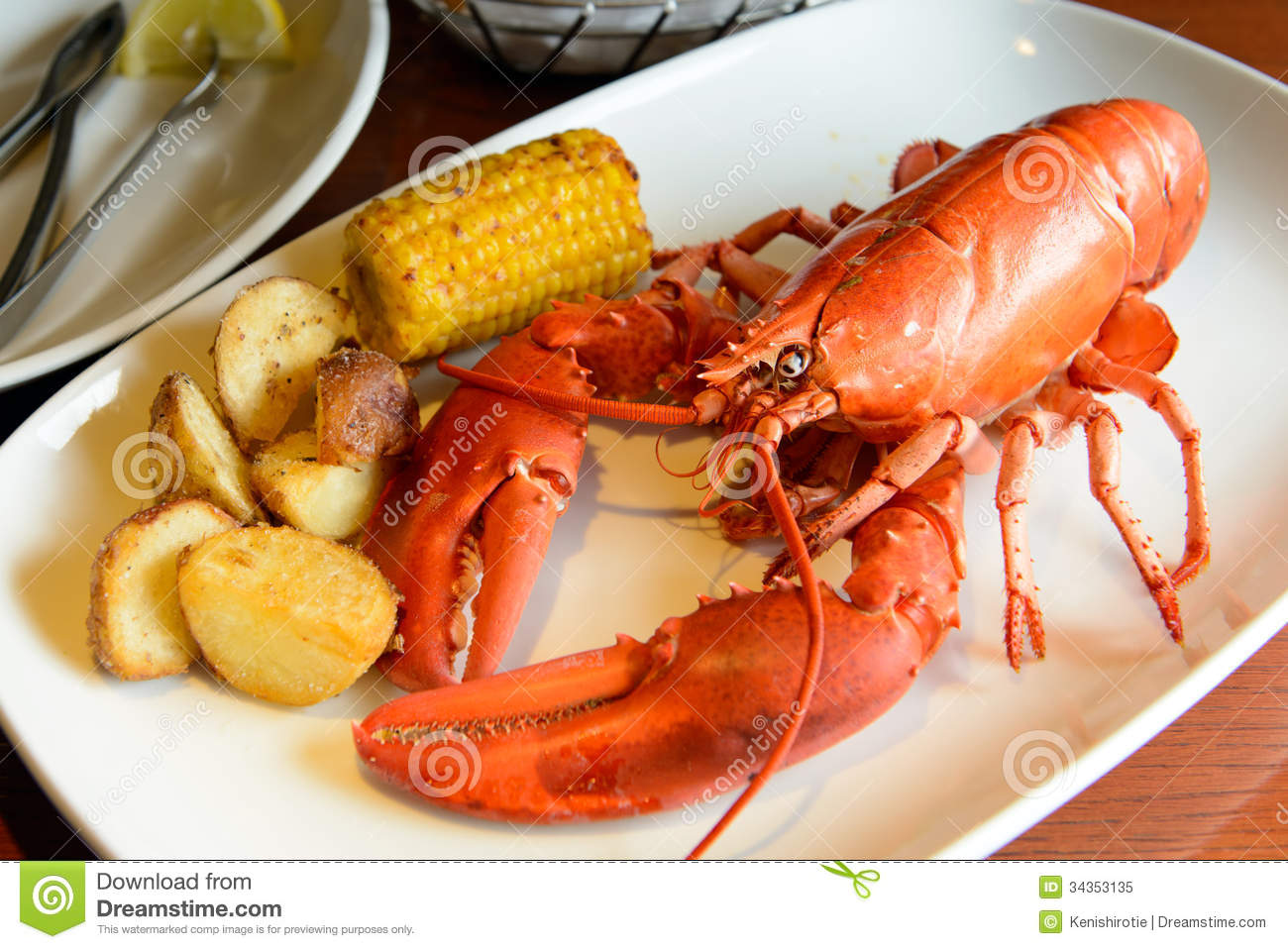 Red Lobster Royalty Free Stock Photo - Image: 34353135