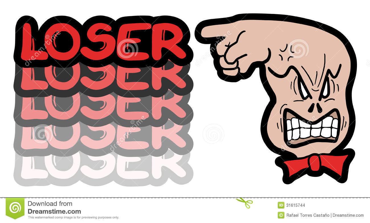 Stock Images Red Loser Creative Design Image31615744 on Body Parts Picture Word Cards