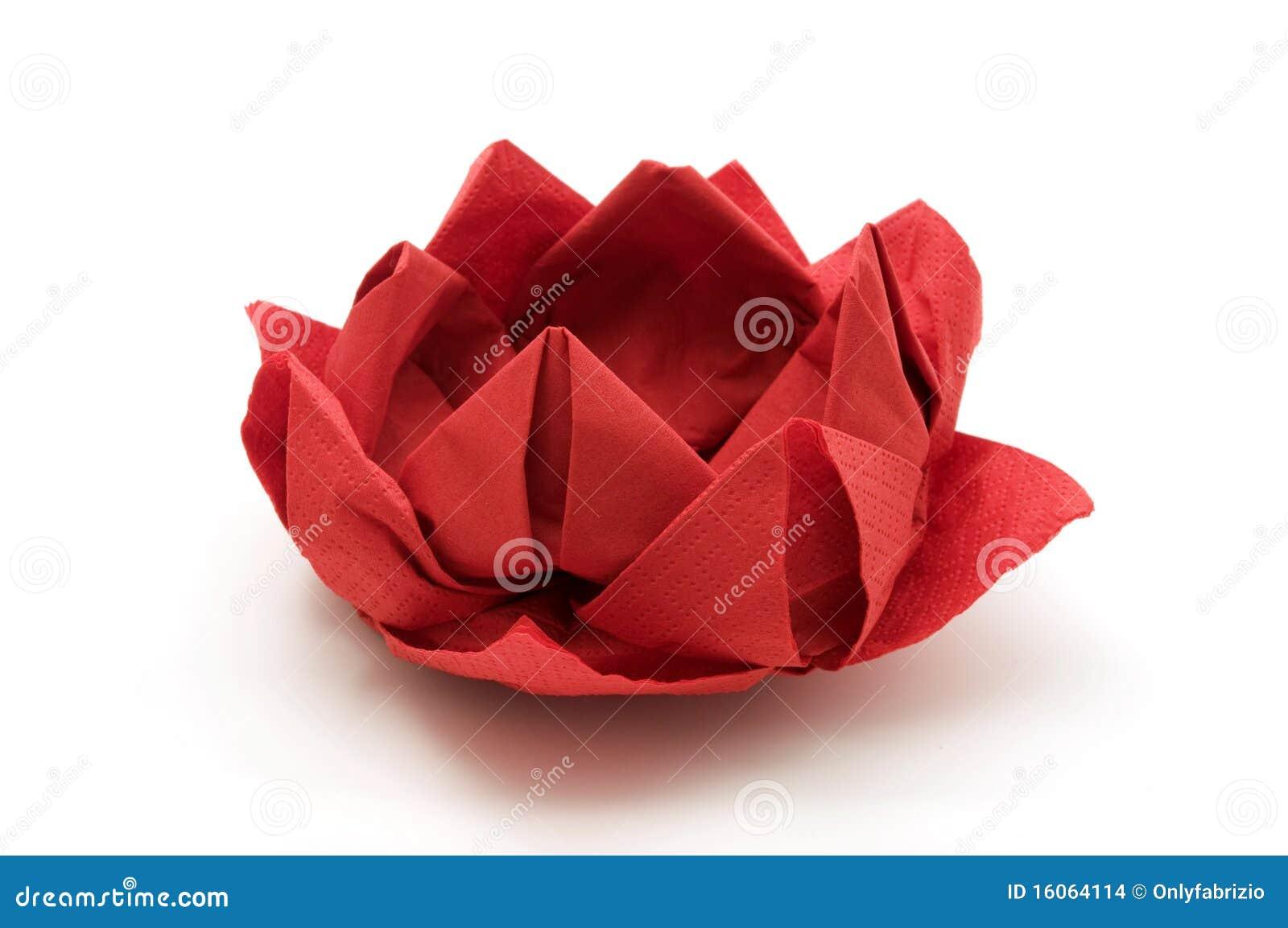 Origami Lotus Flower Paper Lantern