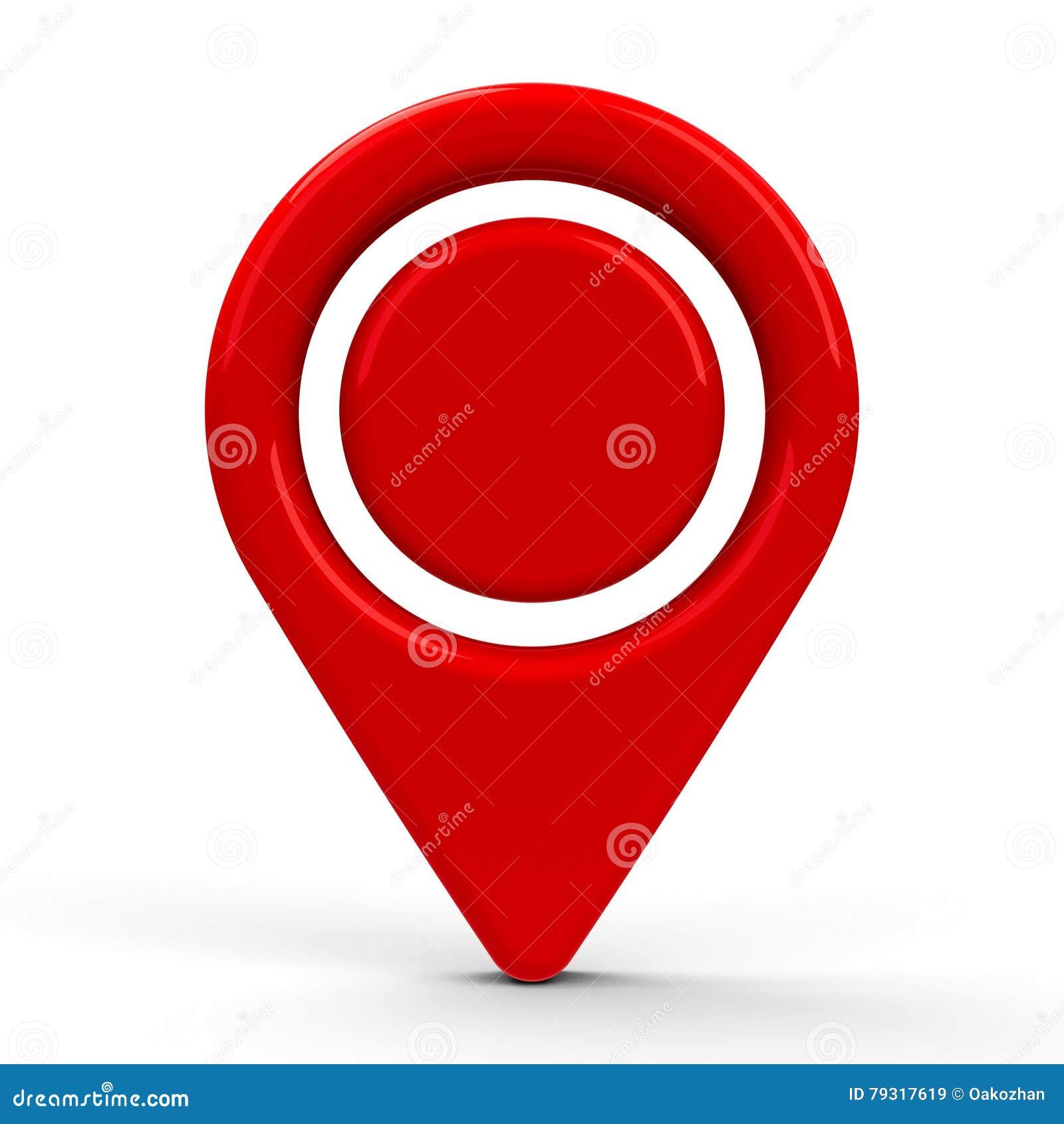 Red map pointer dot 2 stock illustration illustration of internet red map pointer dot 2 buycottarizona