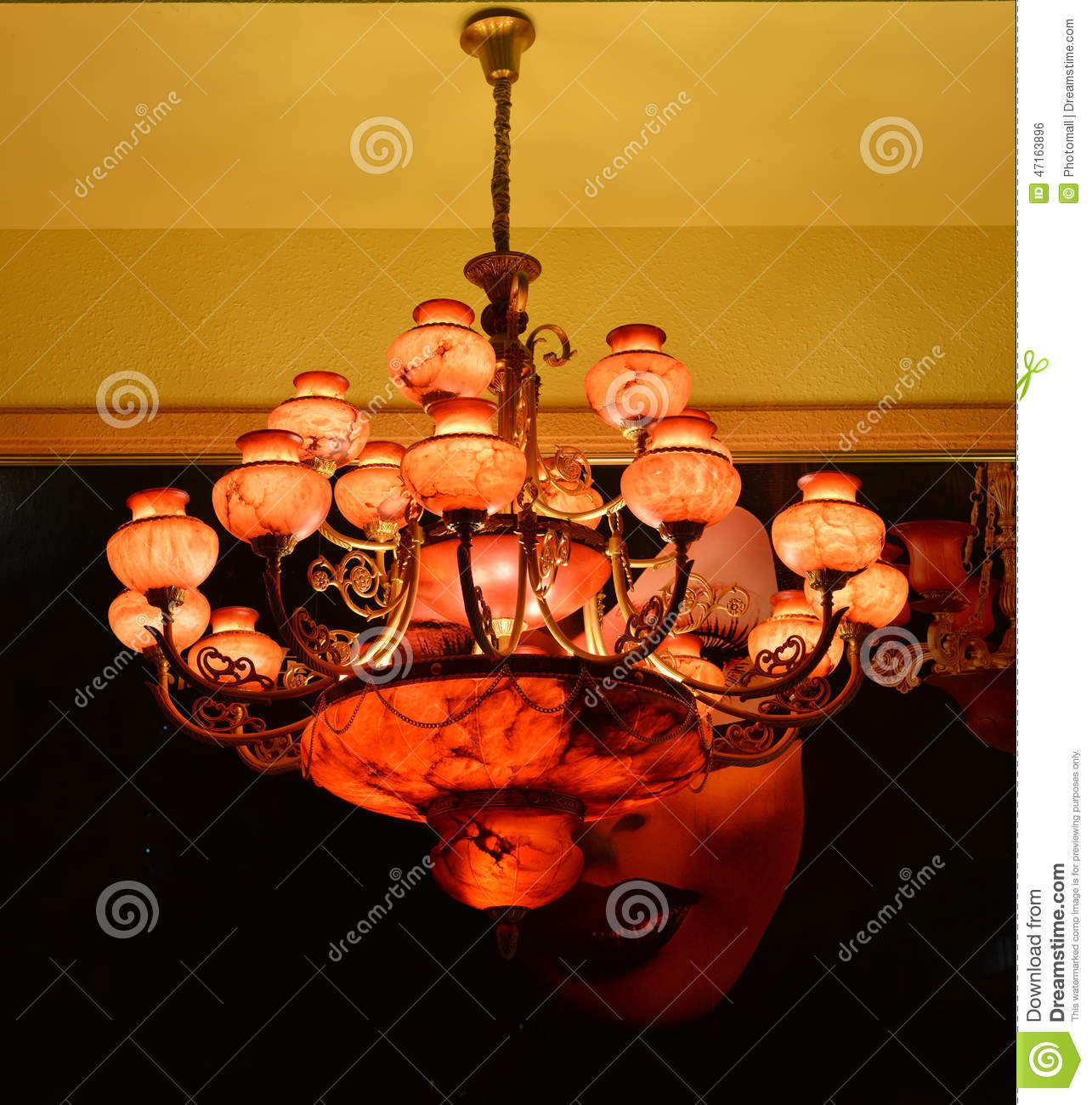 Red Marble Chandelier Lighting Wall Sconce Warm Light The Of Hope Up Your Dream Romantic Time