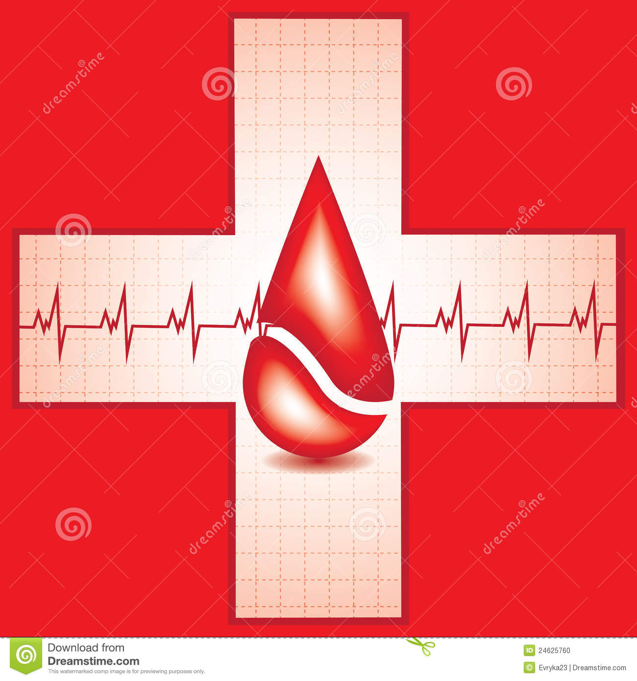 red medical background - photo #21