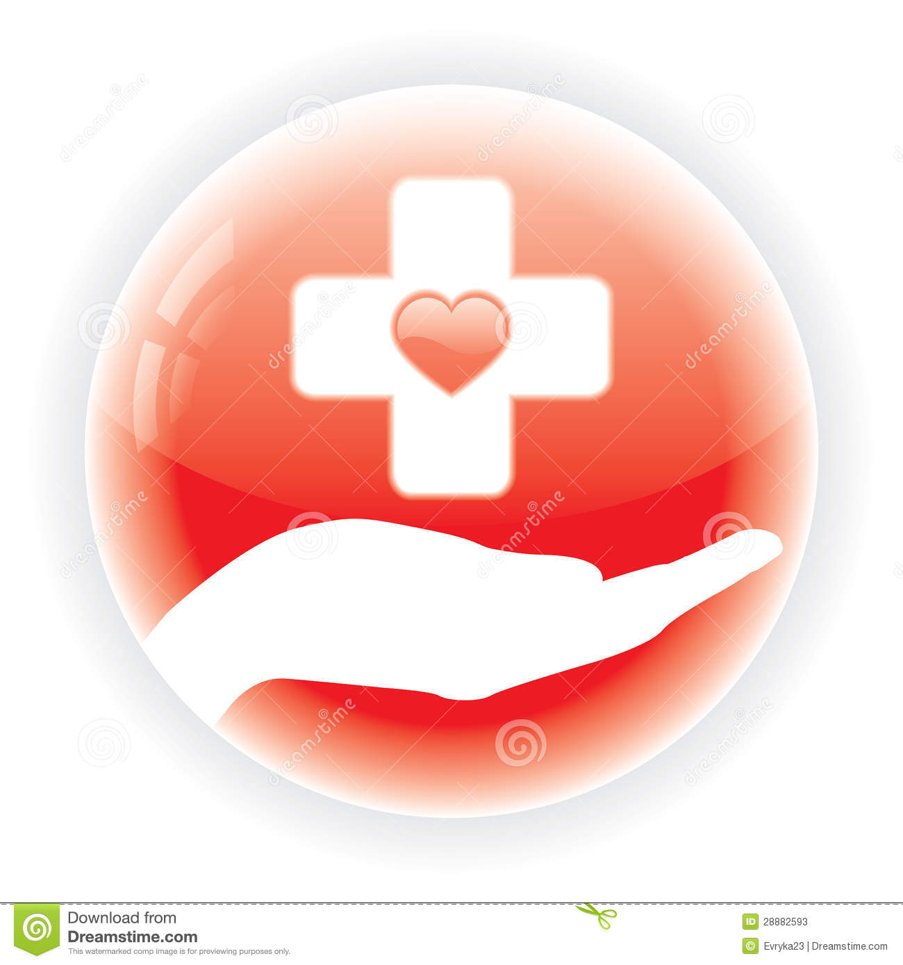 Red Medical Symbol Stock Vector Illustration Of Hospital 28882593