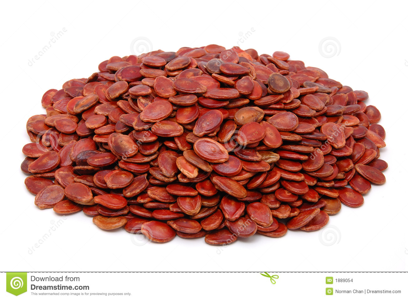 Red Melon Seeds Stock Images Image 1889054