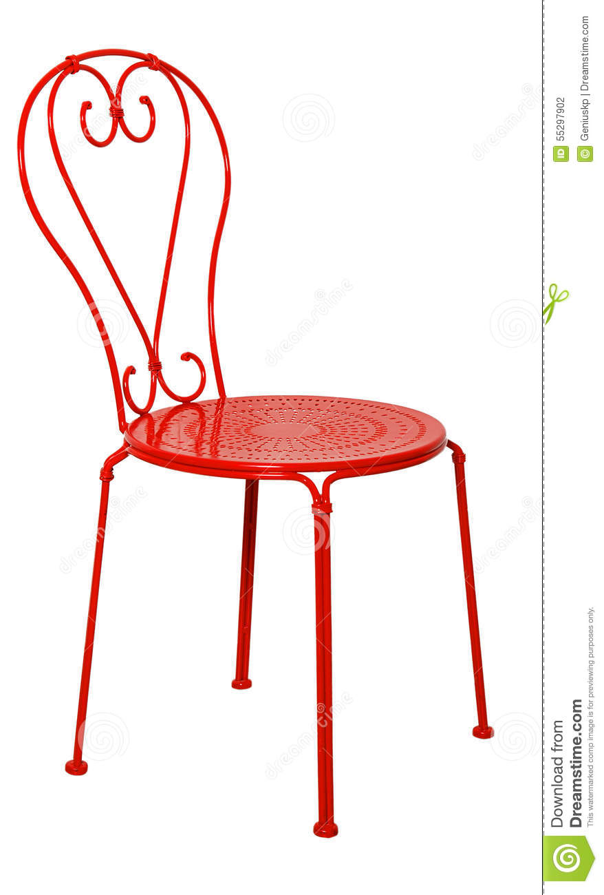 Red And Black Leather Stool Stock Image Cartoondealer