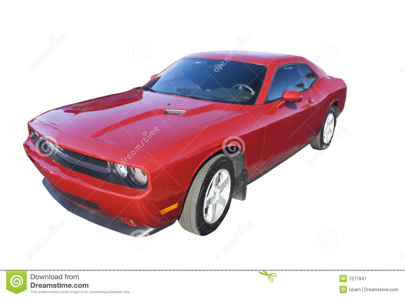 Red modern day muscle car stock image. Image of modern - 7277847