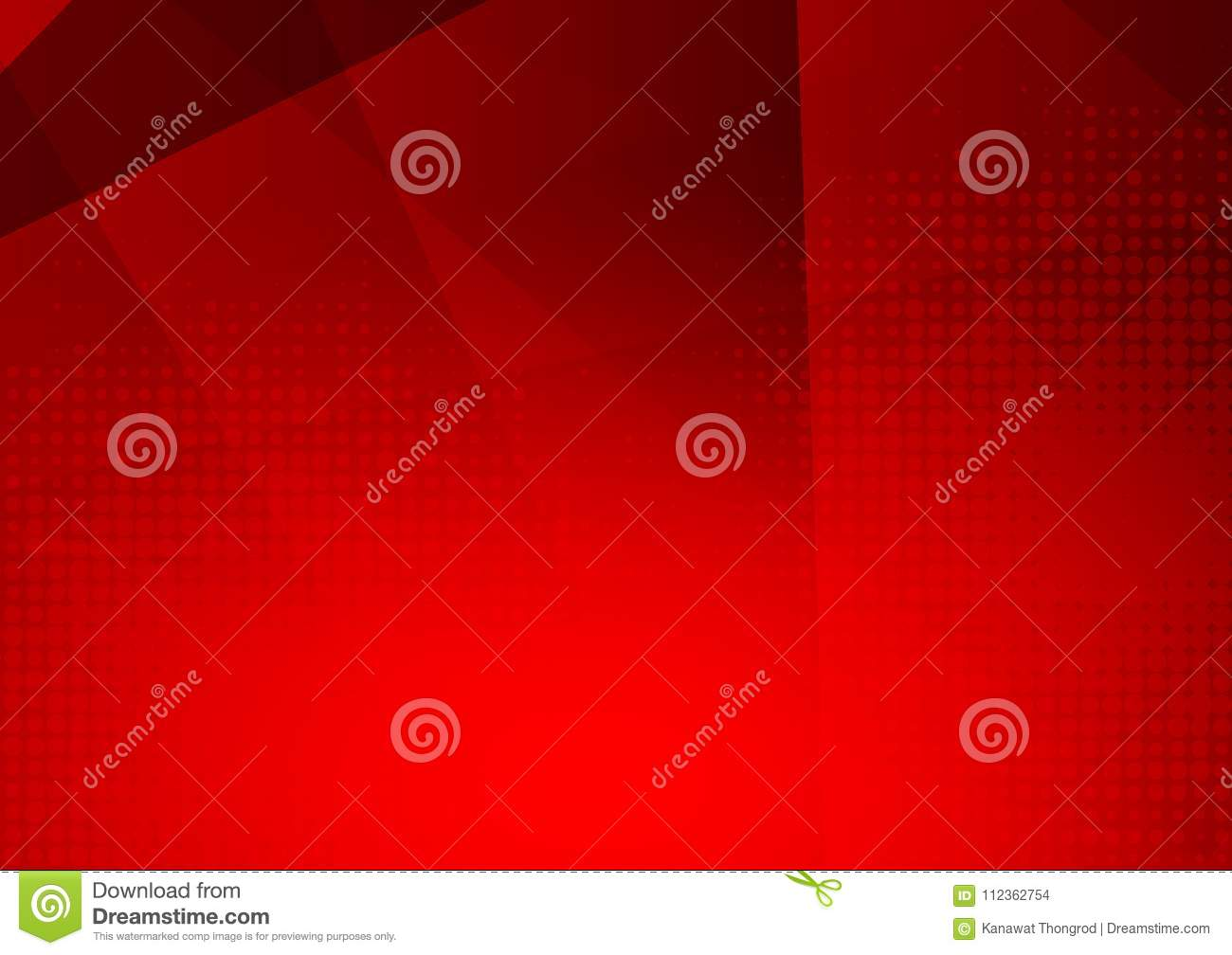 Red modern futuristic geometric abstract vector background with copy space, modern design