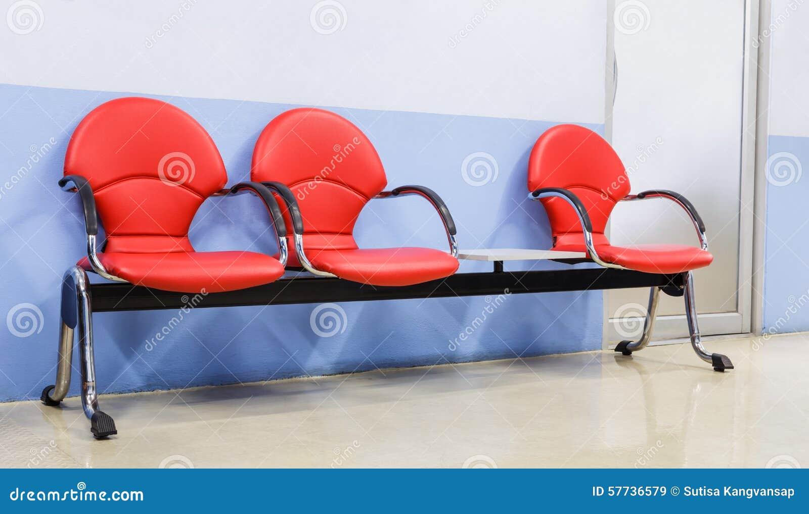 Red Modern Seat Stock Photo Image 57736579