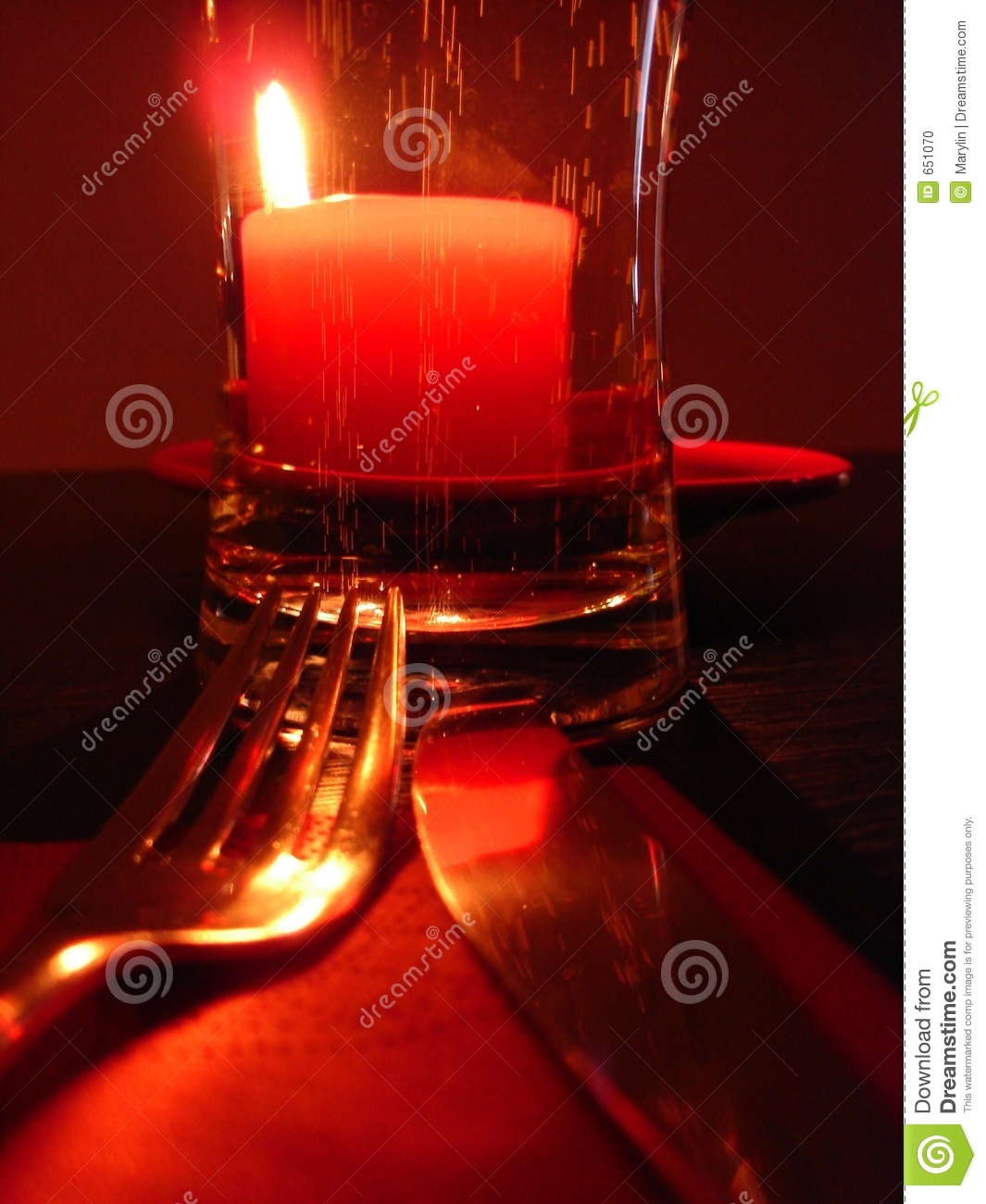 Red Mood Stock Photo Image 651070