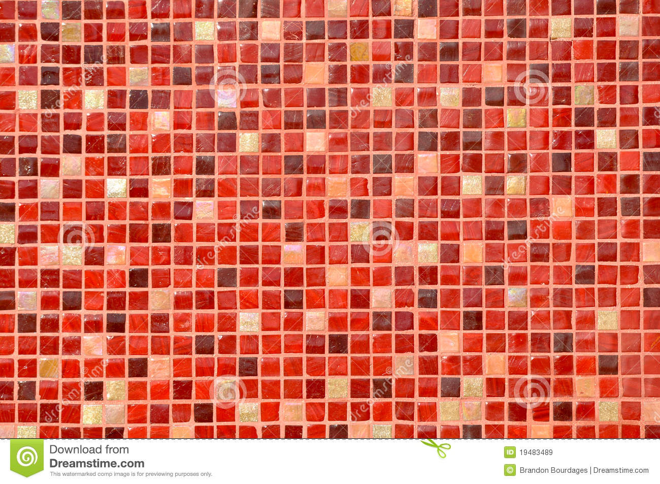 Red Mosaic Tile Background Royalty Free Stock Images Image 19483489