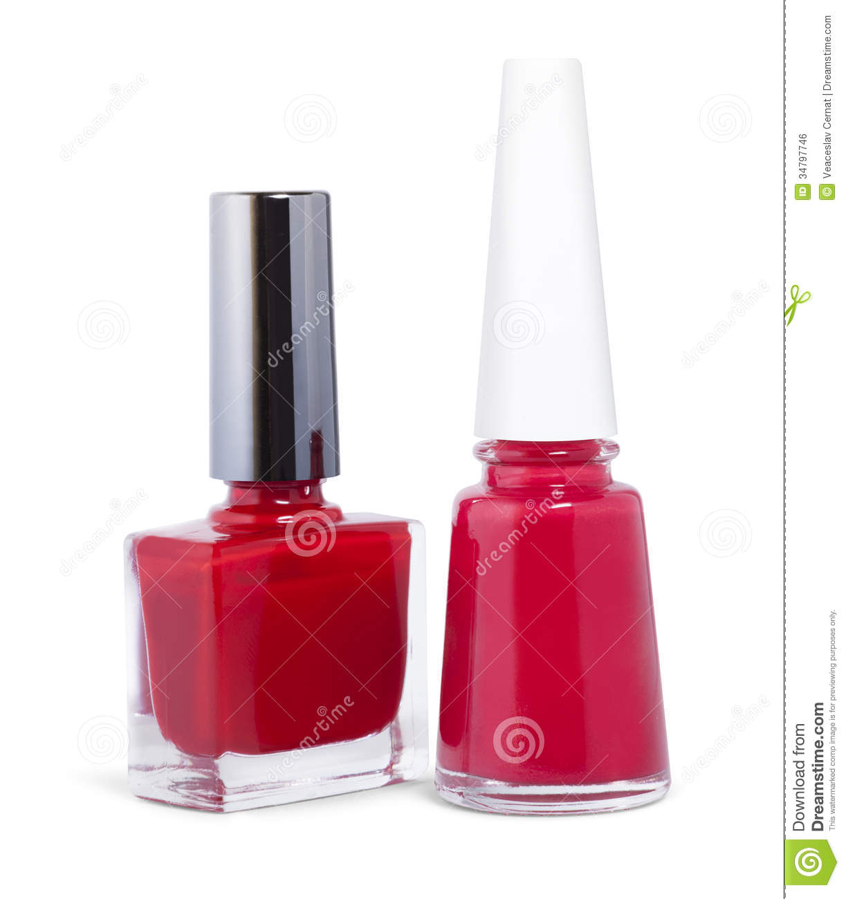 Red Nail Polish Royalty Free Stock Image - Image: 34797746 Nail Polish Bottles Clipart