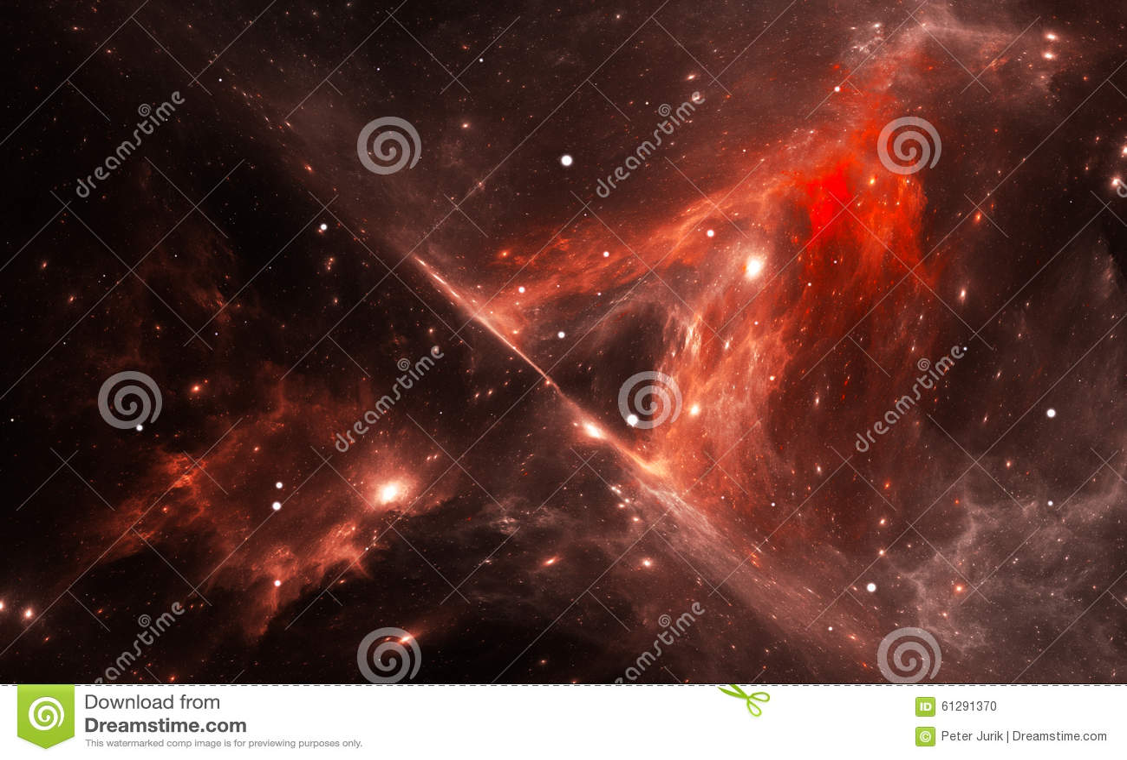 space nebula red - photo #30