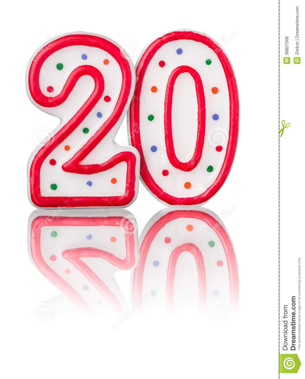 red number 20 stock illustration image 38827568 birthday candle clip art images birthday candle clip art outline