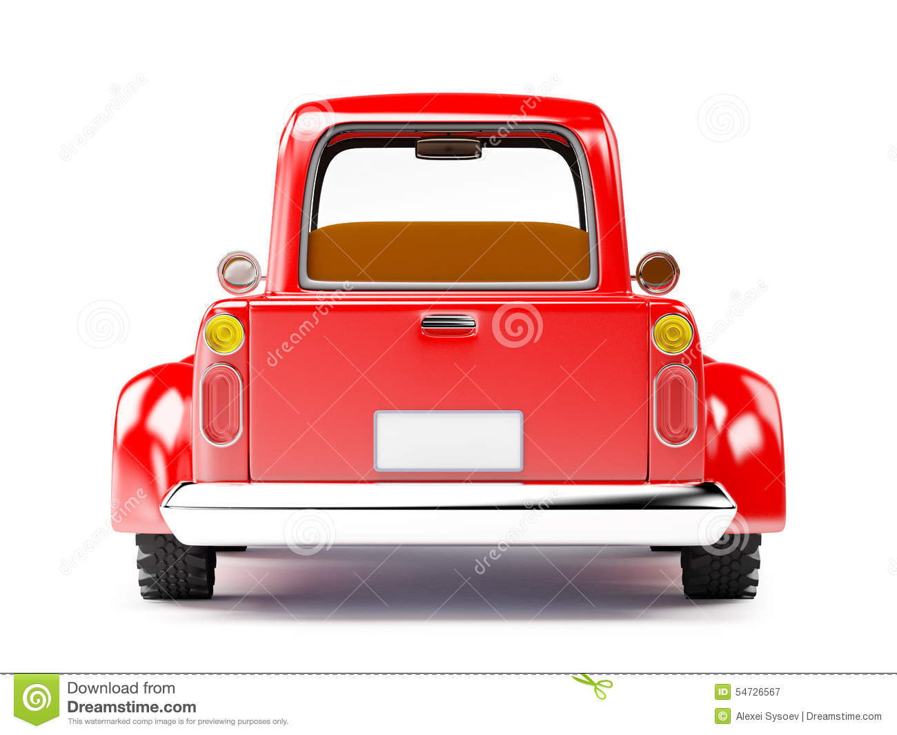 Stock Illustration Red Old Truck Isolated White Background Back View Image54726567 on thumbs up clip art