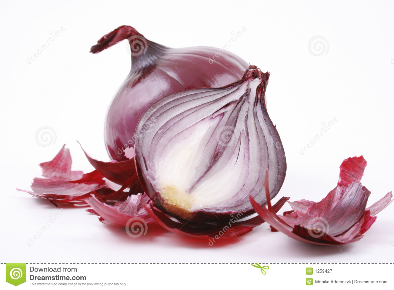 Red Onion Royalty Free Stock Photography - Image: 1259427: www.dreamstime.com/royalty-free-stock-photography-red-onion...