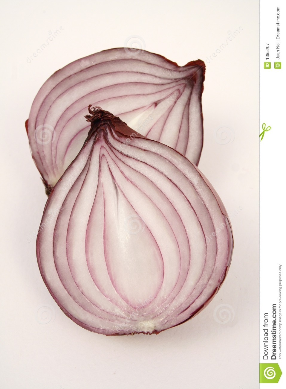 Red Onion Cut In Half Stock Image Image Of Onion Cooking 1385207