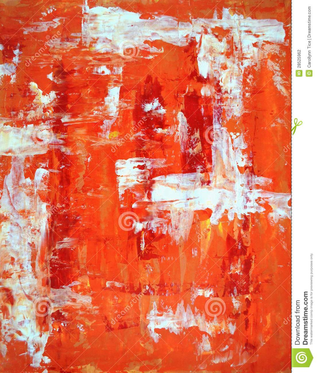 Red And Orange Painting Red And Orange Abstract Art Painting Stock Photography  Image .