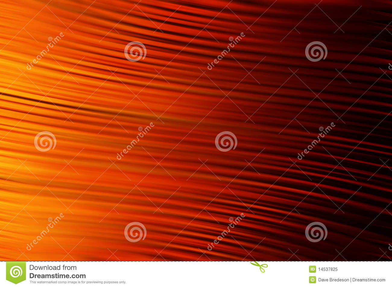 Red Orange Abstract Background