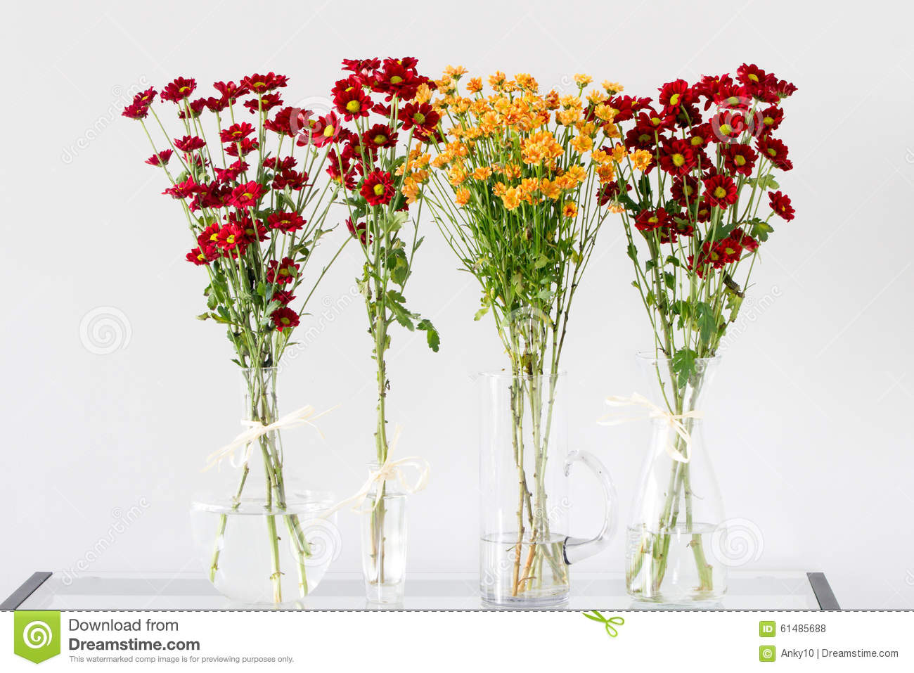 Red and orange autumn flowers stock photo image 61485688 royalty free stock photo reviewsmspy