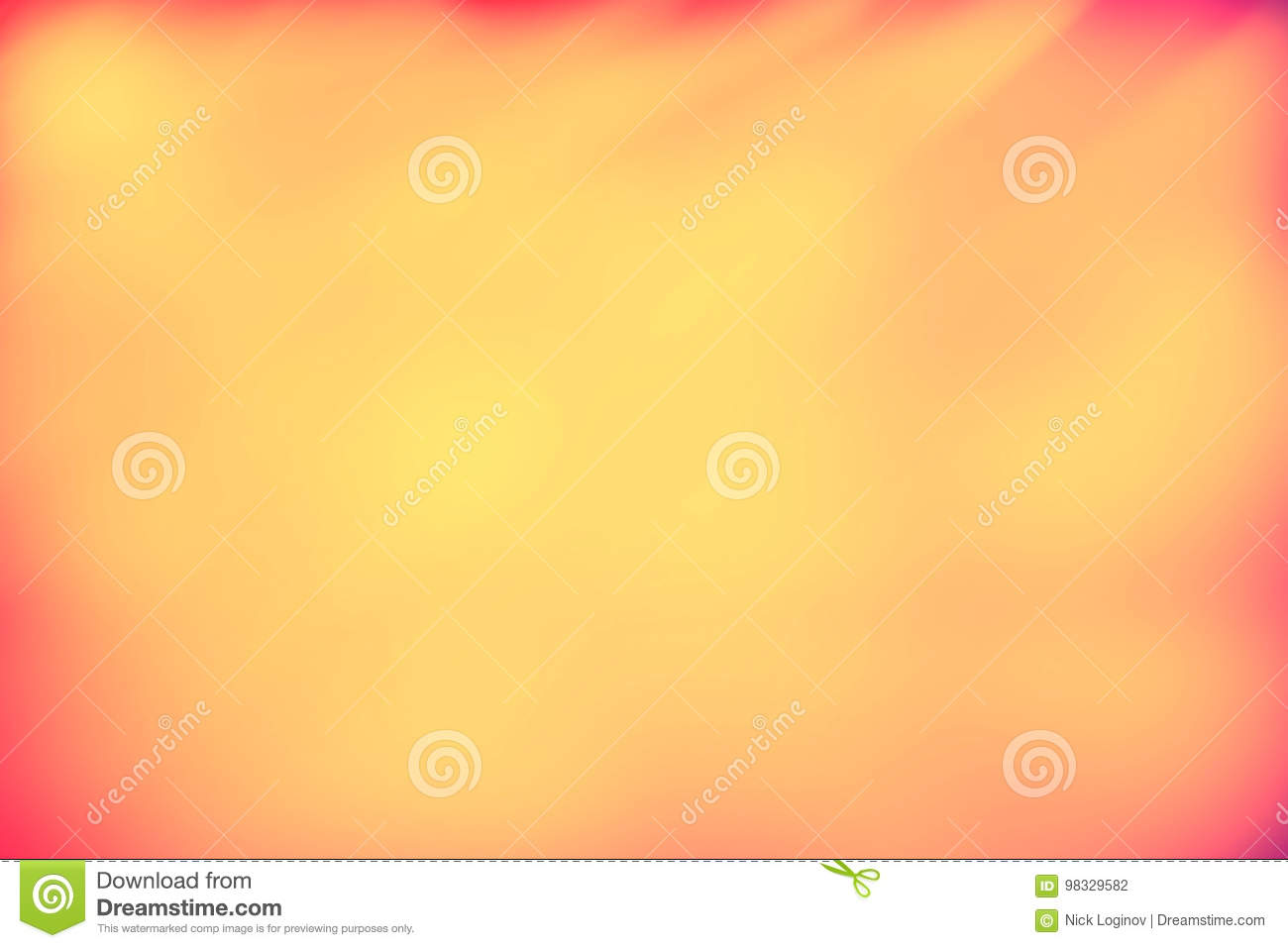 Red And Orange Blank Paper Background Stock Illustration