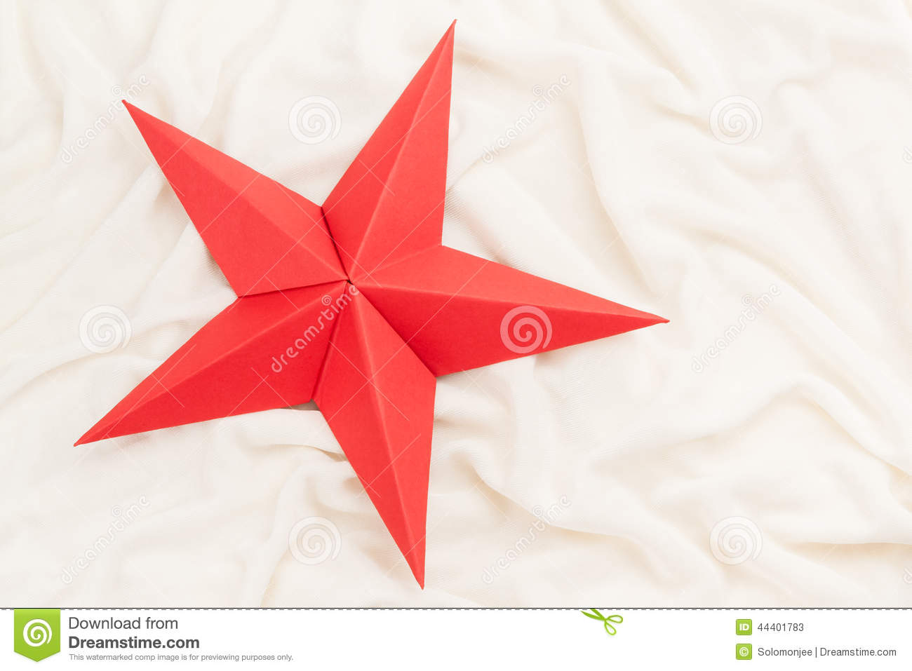 Folding 5 Pointed Origami Star Christmas Ornaments Tavin39s Red