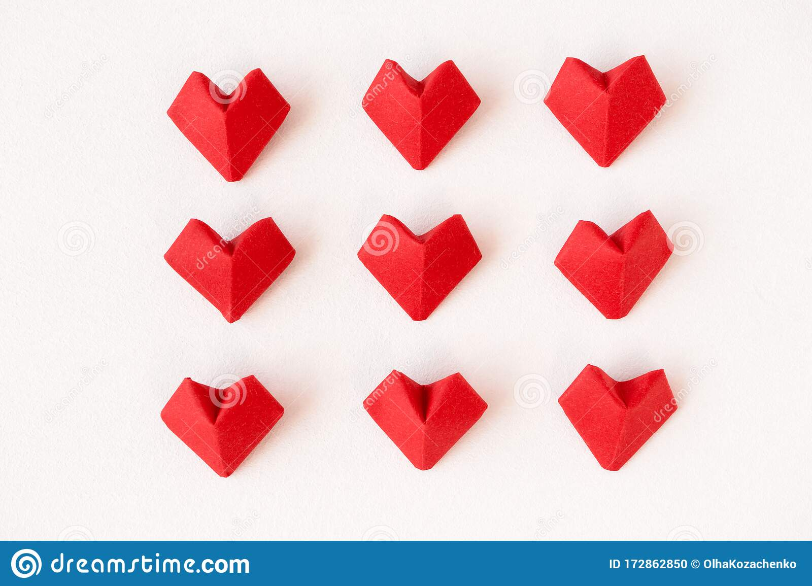 How To Make An Origami Heart - Folding Instructions - Origami Guide | 1155x1600